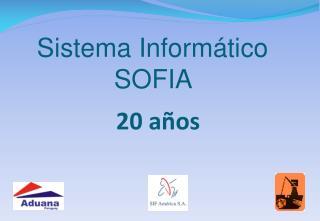 Sistema Inform�tico SOFIA