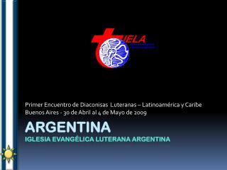 Argentina Iglesia Evangélica Luterana Argentina