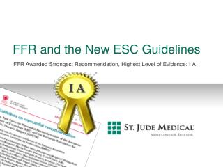FFR and the New ESC Guidelines