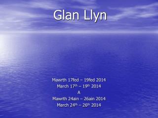 Glan Llyn
