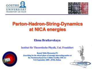 Parton-Hadron-String-Dynamics at NICA energies