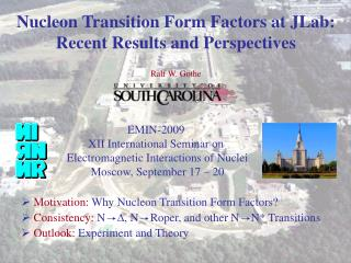 Nucleon Transition Form Factors at JLab: Recent Results and Perspectives