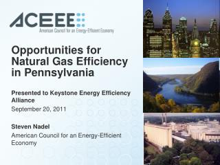 Opportunities for Natural Gas Efficiency in Pennsylvania