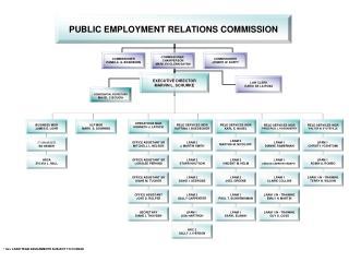 perc org chart