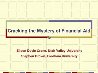 Cracking the Mystery of Financial Aid