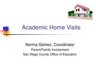 Academic Home Visits
