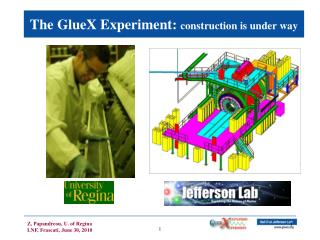 The GlueX Experiment:  construction is under way