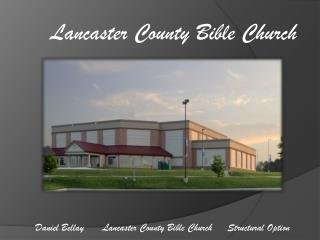 Lancaster County Bible Church