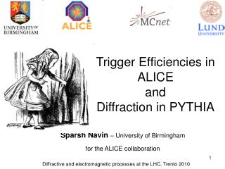 Sparsh Navin – University of Birmingham for the ALICE collaboration