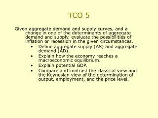 TCO 5