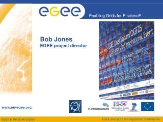 Bob Jones EGEE project director