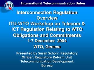 ITU BDT Resources on Interconnection