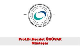 Prof.Dr.Necdet ÜNÜVAR Müsteşar