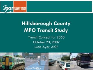 Hillsborough County  MPO Transit Study