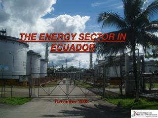 THE ENERGY SECTOR IN ECUADOR