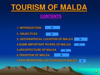 TOURISM OF MALDA