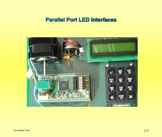 Parallel Port LED Interfaces