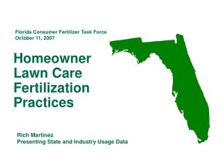 Homeowner  Lawn Care Fertilization Practices