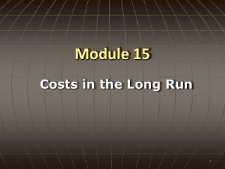 Module 15
