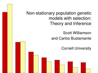 Non-stationary population genetic models with selection: Theory and Inference