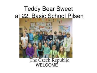 Teddy Bear Sweet   at 22. Basic School Pilsen