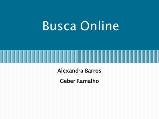 Busca Online