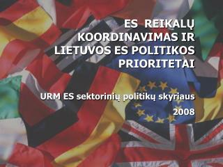 """ES institucinis """"trikampis"""""""