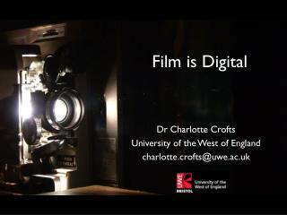 HD Cinema Project: Practice as Process