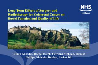 Gillian Knowles, Rachel Haigh, Catriona McLean, Hamish Phillips, Malcolm Dunlop, Farhat Din