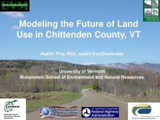 Modeling the Future of Land Use in Chittenden County, VT