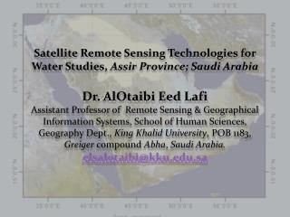 During the last two decades Satellite Remote Sensing