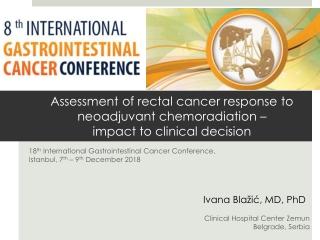 Radiology of Malignant Tumors I