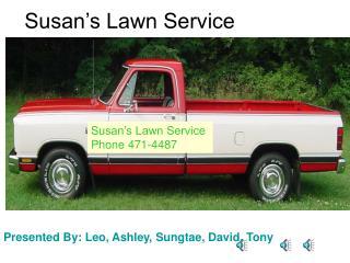 Susan's Lawn Service