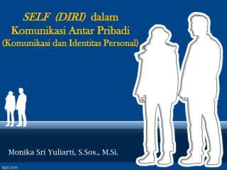 SELF  (DIRI)   dalam Komunikasi Antar Pribadi (Komunikasi dan Identitas Personal)