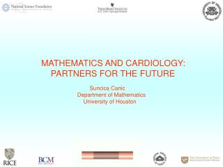 MATHEMATICS AND CARDIOLOGY:     PARTNERS FOR THE FUTURE