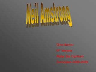 Neil Amstrong