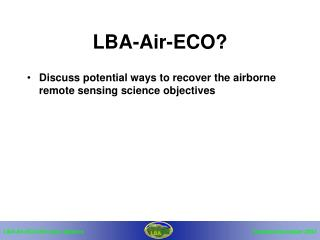 LBA-Air-ECO?