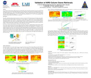 Validation of AIRS Column Ozone Retrievals