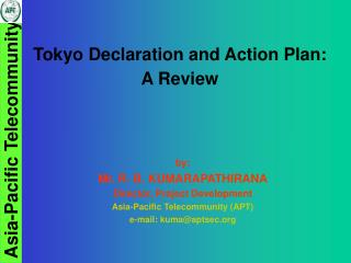 Tokyo Declaration and Action Plan: A Review