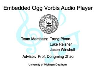 Embedded Ogg Vorbis Audio Player