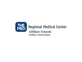 Affiliate Schools  Online Orientation