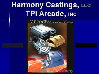 Harmony Castings, LLC  TPi Arcade, INC