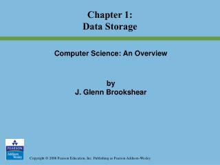 Chapter 1: Data Storage