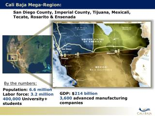 Cali Baja Mega-Region: