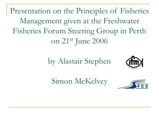 What is Fisheries Management?