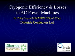 Cryogenic Efficiency & Losses in AC Power Machines
