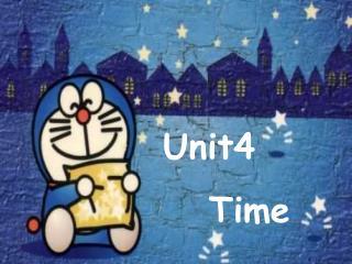 Unit4    Time