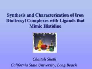 Synthesis and Characterization of Iron Dinitrosyl Complexes with Ligands that Mimic Histidine