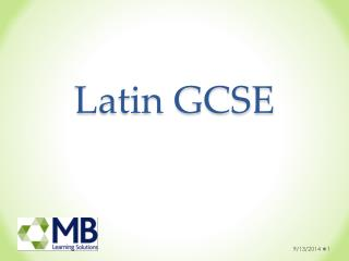 Latin GCSE