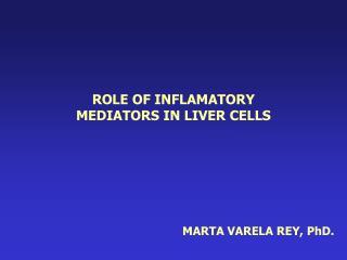MARTA VARELA REY, PhD.